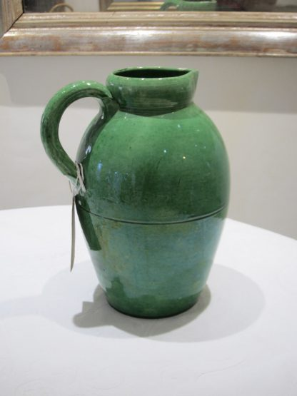 Emerald green pitcher
