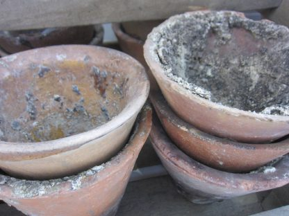 Terracotta resin pots