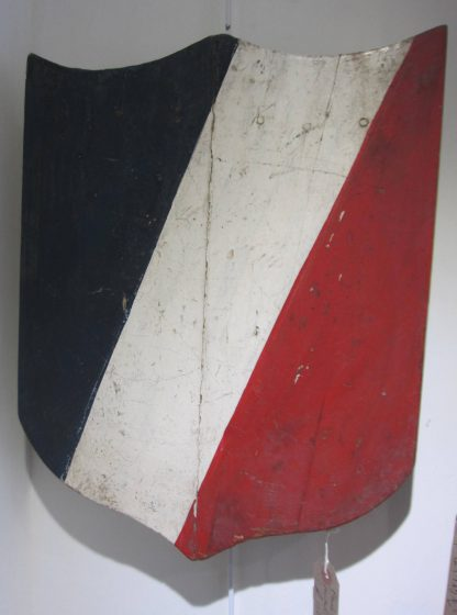 Painted panel Tricolours
