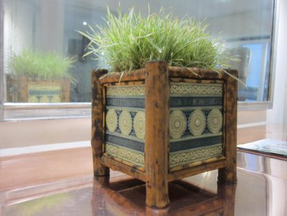Mintons bamboo planters