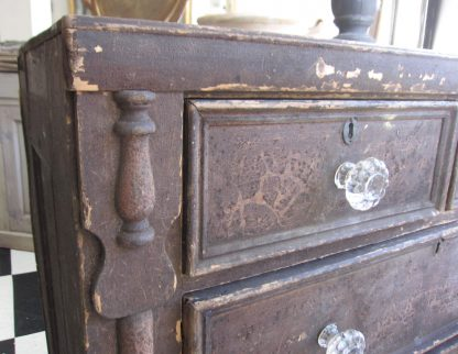 Weathered chest of drawers