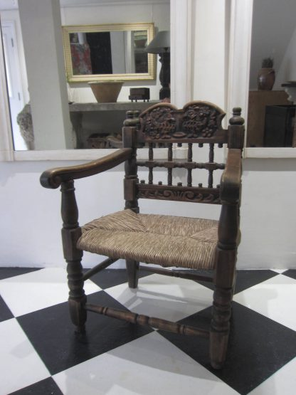 Spanish cockerel armchair