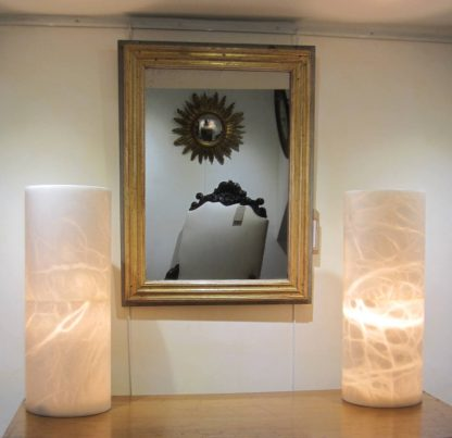 Spectacular stone lamps