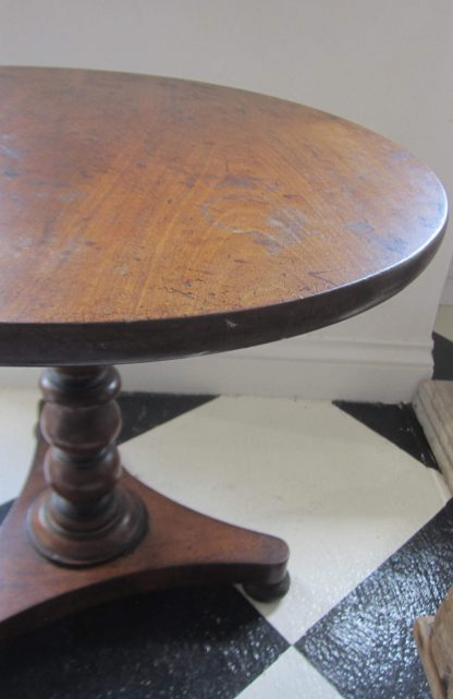 Mahogany tripod table