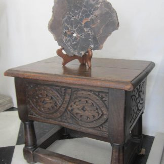 Celtic oak stool