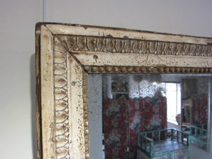 Ancient timeworn mirror