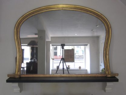 English Giltwood overmantle