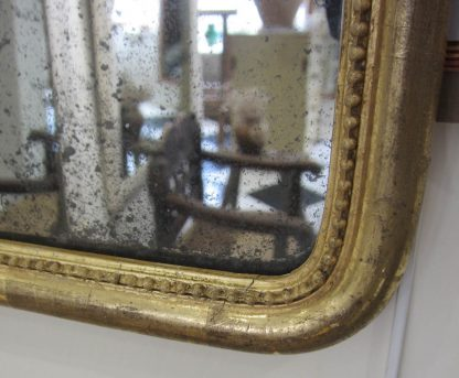 Pretty giltwood mirror