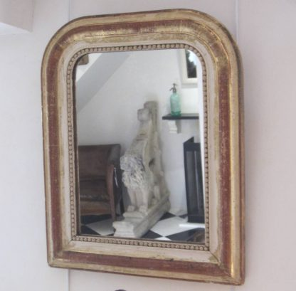 Gorgeous creamy gilt mirror