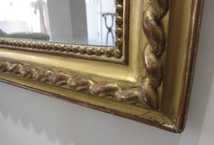 Rope twist mirror