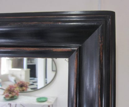Ebonized pair of mirrors