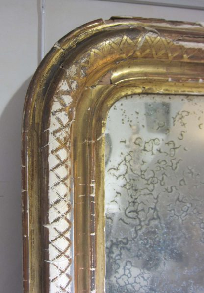 Distressed magic mirror