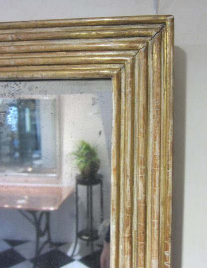 Fabulous reeded mirror