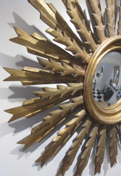 Spectacular Sunburst mirror