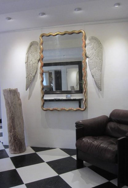 Angel winged mirror
