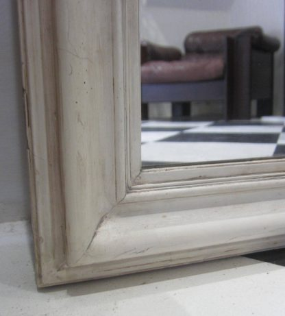 Full length gesso mirror