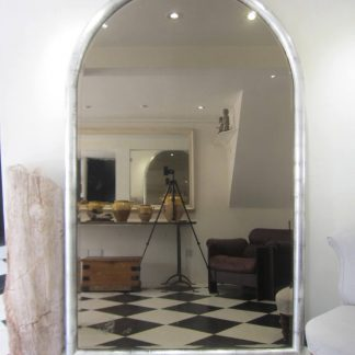 Huge smoked silver mirror