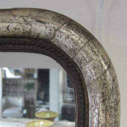 Distressed silver arch top